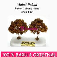 Maket Pohon Cabang Mono / Diorama Pohon / Miniatur Pohon Tinggi 5 cm