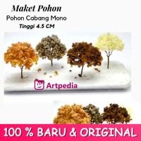 Maket Pohon Cabang Mono / Diorama Pohon / Miniatur Pohon Tinggi 4.5 cm