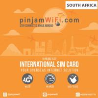 Sim Card Afrika Selatan Unlimited FUP 3GB 30 Days Simcard South Africa