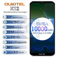 "OUKITEL K12 Helio P35 6GB+64GB 10000mAh 6.3"" FHD+ 16.0MP Android 9.0"