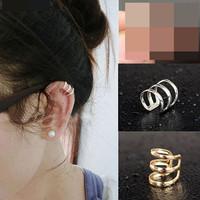 1 pcs Ear Cuff - Anting Jepit Tempel - Model Spiral