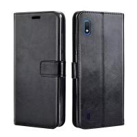Flip Leather Case Samsung M10 Flipcase Cover Wallet Dompet Kulit