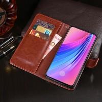 Flip Leather Case Oppo F11 PRO Flipcase Cover Wallet Dompet Kulit