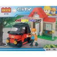 Cogo City 4115 / Lego Mainan Anak
