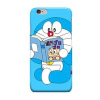 Doraemon Reading A Book iPhone 6 Cover Hard Case