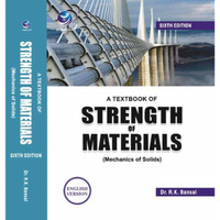 A Textbook of Strength of Materials (Mechanics Of Solids) (English)