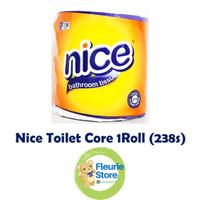 Tissue NICE Toilet Core 1 Roll (238s) - Tissue Murah Surabaya