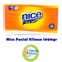 Tissue NICE Facial Kiloan 1000gr - Tissue Refill Murah Surabaya
