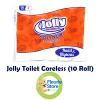 Tissue JOLLY Toilet Coreless 10 Roll - Tissue Termurah Surabaya