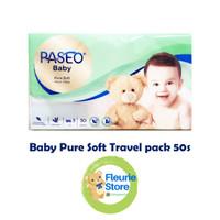 Tissue PASEO Baby Pure Soft Travel Pack 50s - Tissue Murah Surabaya
