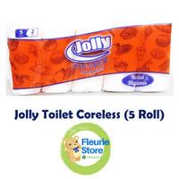 Tissue JOLLY Toilet Coreless 5 Roll - Tissue Termurah Surabaya