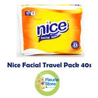 Tissue NICE Travel Pack 40s - Tissue Mini Murah Surabaya
