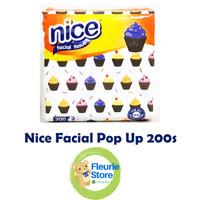 Tissue NICE Pop Up 200s - Tissue Facial Kotak Refill Murah Surabaya