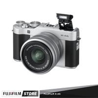 FUJIFILM X-A5 KIT 15-45MM DARK SILVER FREE SDHC 16 GB
