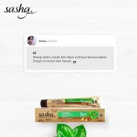 [12 PCS] Pasta Gigi Sasha Anti Bakteri 65 gr Kino Herbal Siwak Sirih