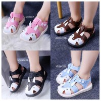 SPT26 - Sepatu sandal rubah walker shoes anak balita toddler kids