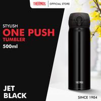 Thermos Tumbler One Push Ultra Light - Jet Black 500ml (JNL-503-JTB)