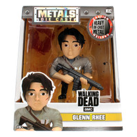 Promo Jada Metals Figure 4in Walking Dead amc Glenn Rhee (M182)
