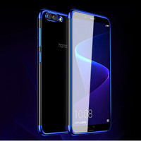 YZ Huawei Honor 10 - Plating Trasparent Luxury Ultra Thin Softcase