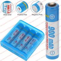 900mah Baterai NIMH Rechargeable AAA Batre Cas A3 Ni-Mh Battery 300x - Biru