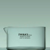 Alat kimia Iwaki Crystallizing Dish 100ml - 70 x 40 mm .