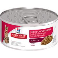 Hills Science Diet Liver & Chicken Entree 5,5oz