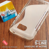 Soft Jelly Case Samsung S7 Active Softcase Silikon Gel Casing Cover