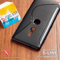 Soft Jelly Case Sony Xperia XZ2 Softcase Silikon Silicon Casing Cover