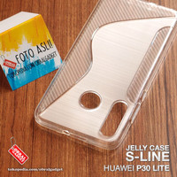 Soft Jelly Case Huawei P30 Lite Softcase Silicon Silikon Casing Cover