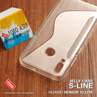 Soft Jelly Case Huawei Honor 10 Lite Softcase Silikon Casing Cover Gel