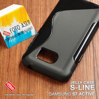 Soft Jelly Case Samsung S7 Active Softcase Silikon Casing Cover Gel