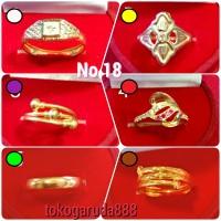 Cincin No 18 emas asli kadar 700 70% 22k 1 satu 2 dua gram gold model