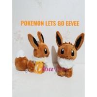 Boneka EEVEE pokemon Lets Go Eevee
