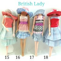 Baju Barbie Around The World