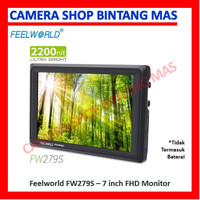 FEELWORLD FW279S 7 Inch 2200nit Daylight Viewable Camera Field Monitor