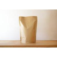 Standing Pouch Kraft with Valve 100g | Kemasan Kopi