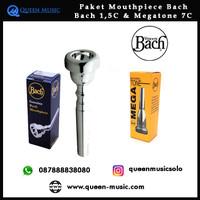 paket Mouthpiece Bach 1,5c & Bach megatone 7c