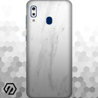 [EXACOAT] Galaxy A20 3M Skin / Garskin - Marble White