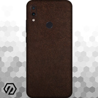 [EXACOAT] Redmi 7 Skin / Garskin - Leather Brown
