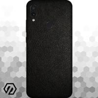 [EXACOAT] Redmi 7 3M Skin / Garskin - Leather Black