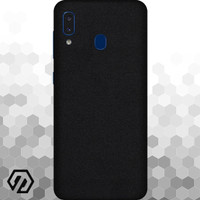 [EXACOAT] Galaxy A20 3M Skin / Garskin - Black Matte