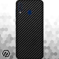 [EXACOAT] Galaxy A20 3M Skin / Garskin - Carbon Fiber Black