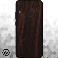 [EXACOAT] Redmi 7 3M Skin / Garskin - Wood Mahogany