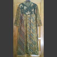 Dress gamis batik lawas batik lawasan khas jogja 357