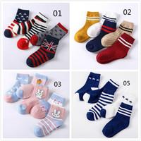 kaos kaki anak laki-laki / kaos kaki anak import-1 pack isi 5 pcs
