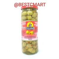 FIGARO STUFFED GREEN OLIVES WITH PIMIENTO PASTE 450GR