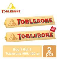 Buy 1 Get 1 - Toblerone Milk 100 gr