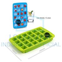 LOCK&LOCK Silicone Ice Mold Cetakan Es Agar Jelly SLX016B/G