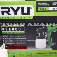 Spray Gun Elektrik RSE-800 Ryu by Tekiro Japan Paint Zoom RSE800