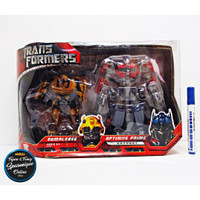 Action figure transformers box set